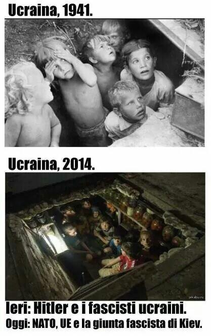 #Ucraina #1941 and #2014 find the #difference #Europeennes2014 #euromaidan #SaveDonbasPeople